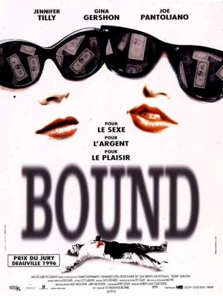 At around 18 minutes in Bound, one of the more explicit lesbian sex scenes ...