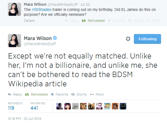 Mara Wilson, being awesome